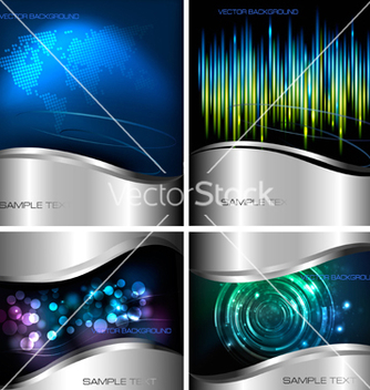 Free abstract technology backgrounds vector - Free vector #266913