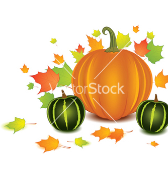 Free pumpkin background vector - бесплатный vector #266923