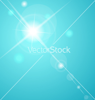 Free abstract star with lenses flare vector - Free vector #266943