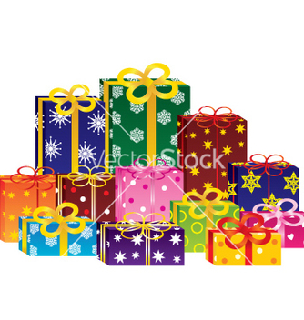Free gift boxes vector - Free vector #266973