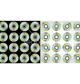 Free compact discs pattern vector - Free vector #267223