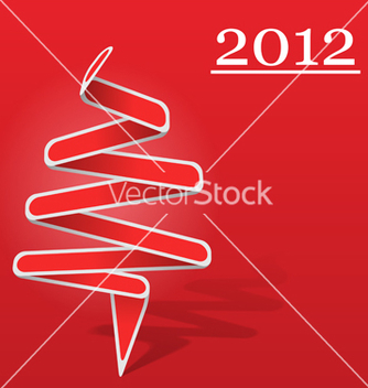 Free origami christmas tree vector - бесплатный vector #267293