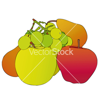 Free composition fruitful vector - Free vector #267443