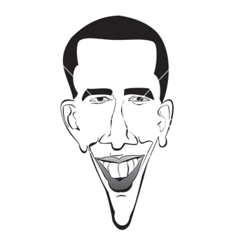 Free barrack obama vector - vector gratuit #267763
