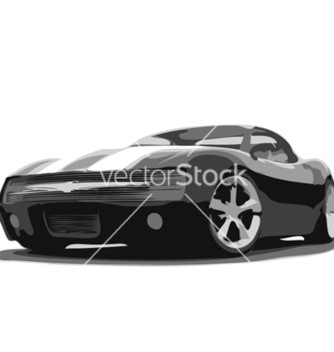 Free sports car vector - vector gratuit #267933