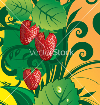 Free summer fruit vector - vector gratuit #268223