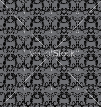 Free floral seamless background vector - бесплатный vector #268263