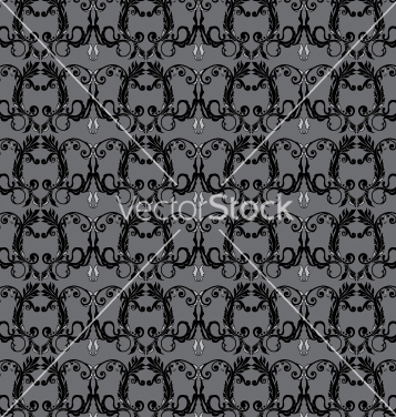 Free floral seamless background vector - Free vector #268263