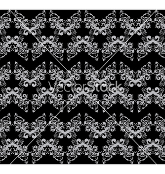 Free floral seamless background vector - Kostenloses vector #268273
