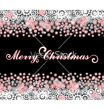Free christmas card vector - бесплатный vector #268283