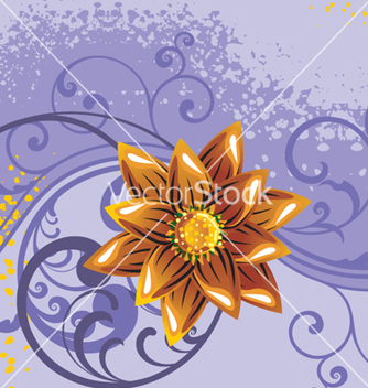 Free floral background vector - Free vector #268293
