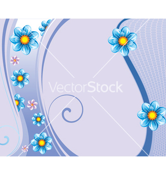 Free floral background vector - Free vector #268353