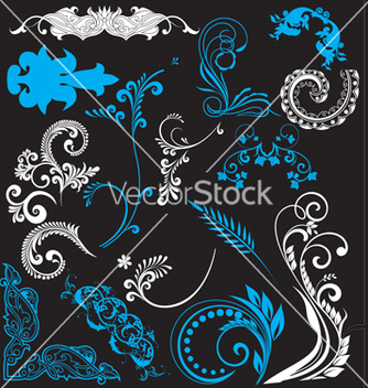 Free nature elements vector - vector #268463 gratis