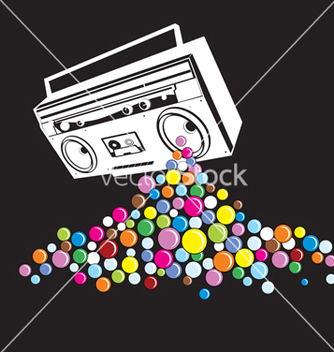 Free music pop vector - бесплатный vector #268493