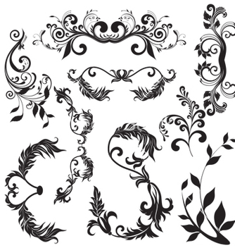 Free nature elements vector - vector #268553 gratis