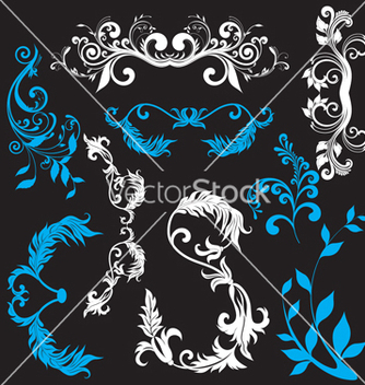 Free nature elements vector - vector #268563 gratis