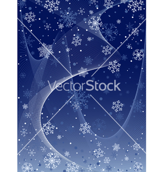 Free snowflakes vector - Free vector #268733