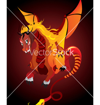 Free dragon vector - Free vector #269023
