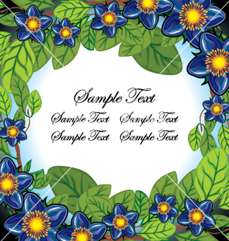 Free floral page vector - Free vector #269243