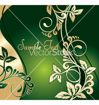 Free floral background vector - Free vector #269383