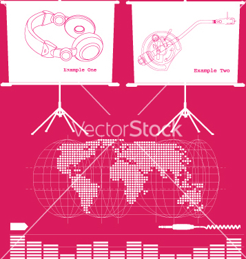 Free music business vector - vector gratuit #269463