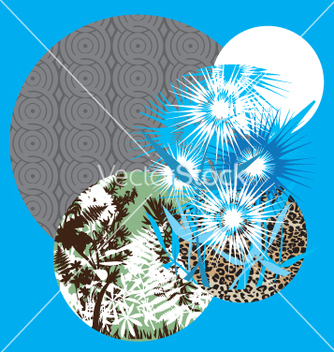 Free abstract collage vector - Free vector #269533