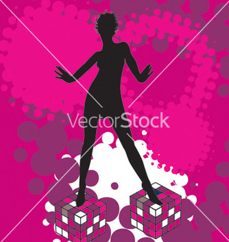 Free disco dancing vector - бесплатный vector #269583