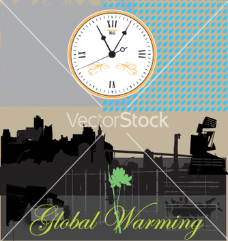 Free global warming vector - vector gratuit #269683