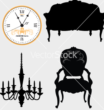 Free furniture vector - бесплатный vector #269803