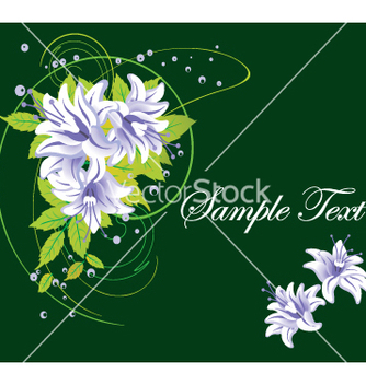 Free floral background vector - Free vector #269833