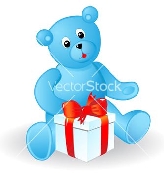 Free toy bear vector - vector #269863 gratis