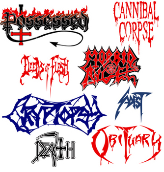 Free death metal vector - бесплатный vector #269933