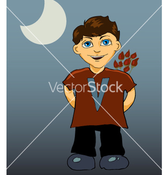 Free smiling boy vector - Free vector #270103