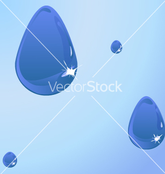 Free water drops vector - бесплатный vector #270143
