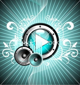Free for musical theme vector - бесплатный vector #270203