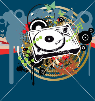 Free disco club party time vector - бесплатный vector #270233