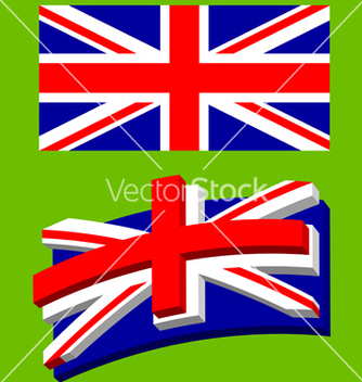 Free union jack flag vector - бесплатный vector #270243