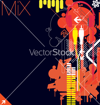 Free club flyer graphics vector - Free vector #270293