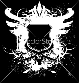 Free heraldry shield regal grunge vector - Kostenloses vector #270333