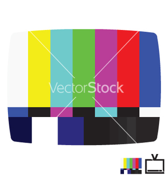 Free smpte color bars vector - vector gratuit #270443