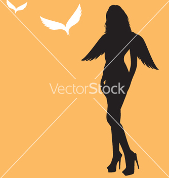 Free sexy angel vector - бесплатный vector #270483