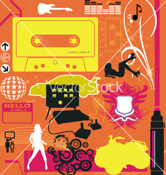 Free graphic funk vector - бесплатный vector #270523