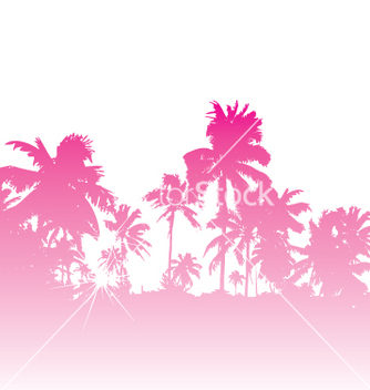 Free tropical backdrop vector - Kostenloses vector #270583