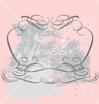 Free vintage frame vector - Free vector #270663