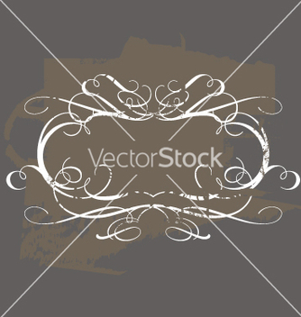 Free vintage frame vector - Free vector #270673