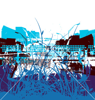 Free urban atmosphere vector - Free vector #270713