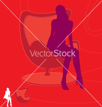 Free retro girl vector - бесплатный vector #270773