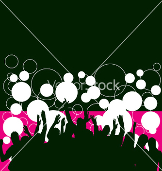 Free party people vector - Kostenloses vector #270873
