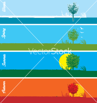 Free seasons vector - vector #271113 gratis