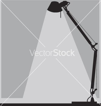 Free office lamp vector - vector gratuit #271153